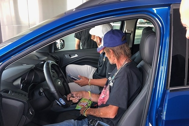 Antonio Basco's Car Was Stolen And Totaled Right After His Wife's Funeral. His Community Got Him Another One The Next Day.