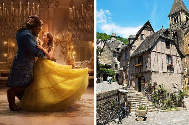 """This French Town Was The Inspiration For """"Beauty And The Beast"""" And It's So Cute"""