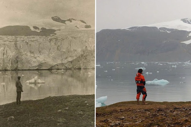 These Climate Change Photos From The Last 100 Years Will Shock You