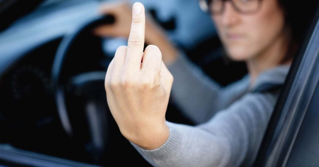 A Woman Flipped Off A Cop And A Court Sided With Her