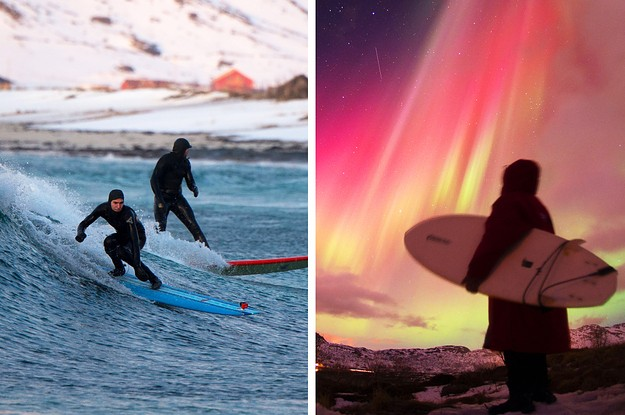 These Awesome Pictures Of Extreme Surfers Reveal What It's Like To Ride Waves In The Arctic Circle