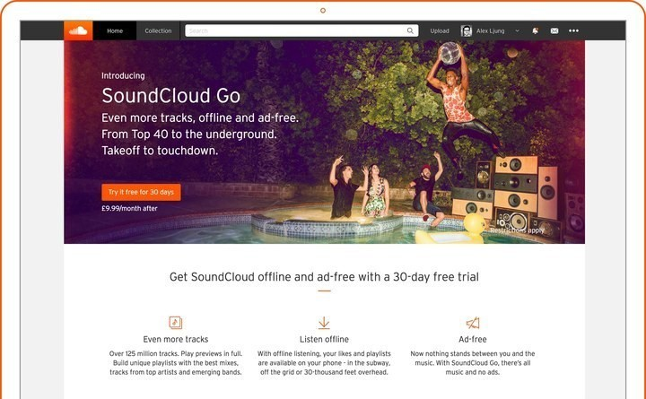 SoundCloud Launches UK Streaming Service To Rival Spotify And Apple