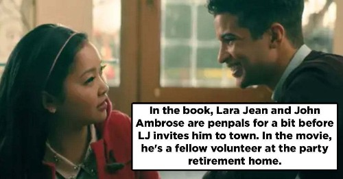 15 Differences Between The 'P.S. I Still Love You' Book And Movie
