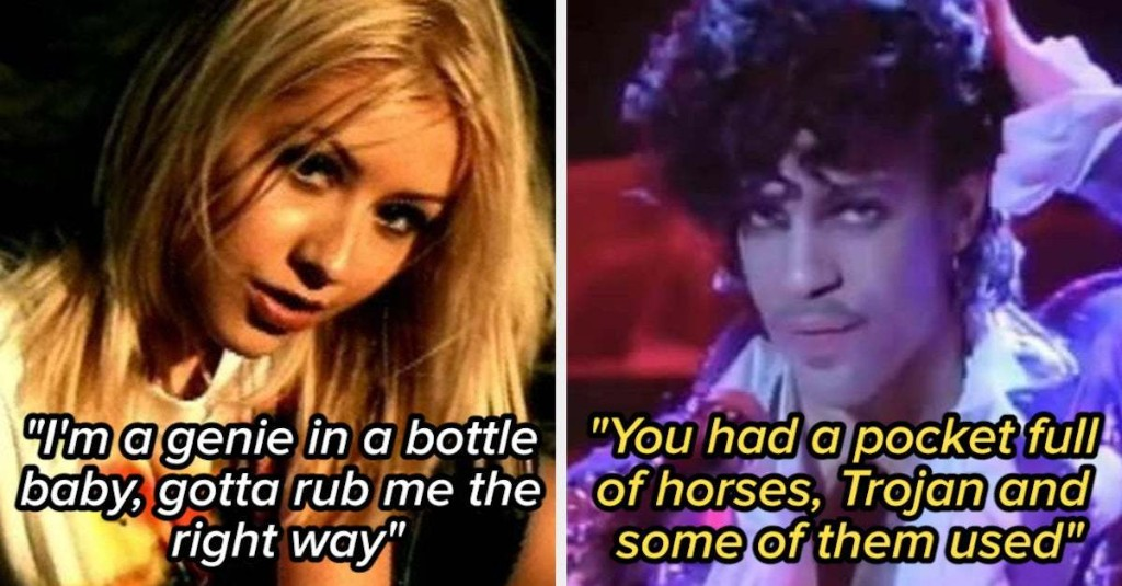 19 Dirty Lyrics That Totally Went Over Your Head As A Kid