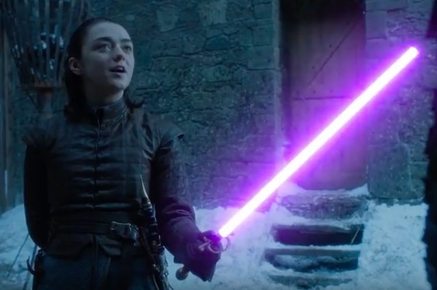 Someone Edited That Arya/Brienne Fight With Lightsabers And It's Brilliant