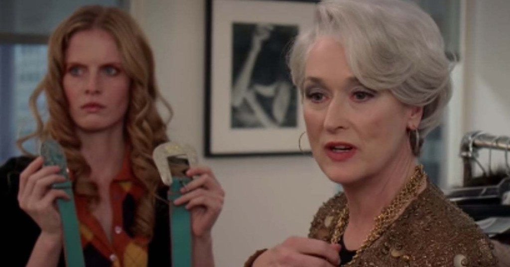 "How Well Do You Remember Miranda Priestly's Sweater Monologue From ""The Devil Wears Prada""?"