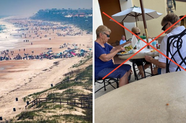 """16 Pictures That Show How Terribly """"Social Distancing"""" Is Working In Florida Since The Spring Break Drama A Few Weeks Ago"""