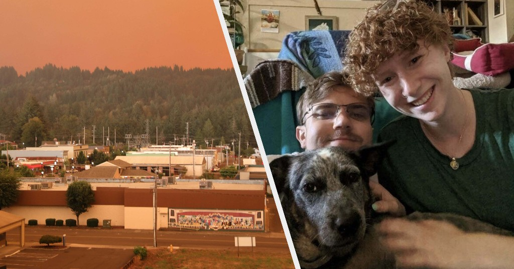 When They Came To An Oregon Town To Take Pictures Of The Fires, Armed Locals Thought They Were Antifa Arsonists