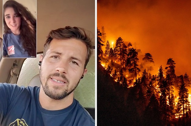 A Firefighter Has Gone Viral Thanks To His Wildfire Debunks On Tiktok