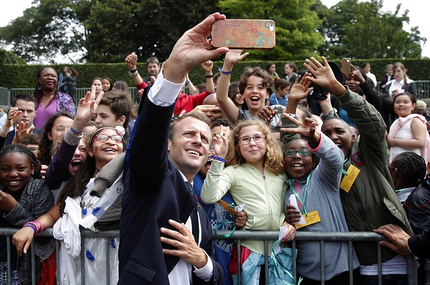 Macron Told Off A French Teen For Being Impolite And People Are Not Impressed