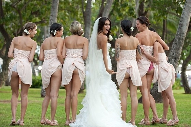 Fashion Trends : Top 10 Weird Wedding Photos You Can't Unsee Ever Before