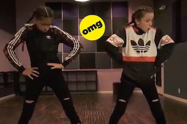 These Two Pre-Teen Girls Doing Hip Hop Is A Damn Work Of Art