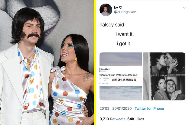 Halsey Wrote A Sweet Birthday Post For Boyfriend Evan Peters And I Just Want Everyone To Remember This Started With Thirst Tweets
