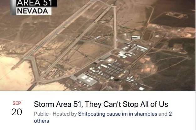 """The Viral """"Storm Area 51"""" Event Got Canceled For Being A """"Possible Humanitarian Disaster"""""""