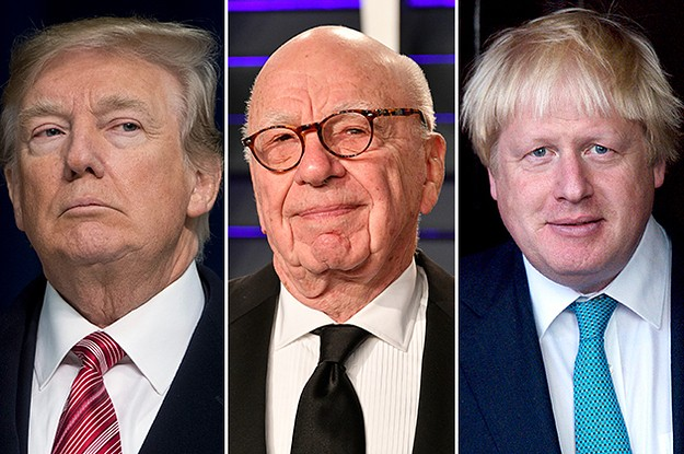Rupert Murdoch Is Fighting To Keep His Fraying Empire Behind Trump And Boris Johnson