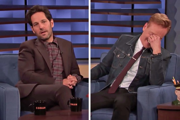 "Paul Rudd Has Been Pranking Conan O'Brien With This ""Mac And Me"" Clip For 15 Years And I, For One, Can't Stop Laughing"