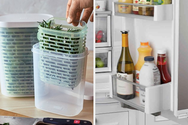 21 Clever Ways To Keep Everything In Your Refrigerator Organized