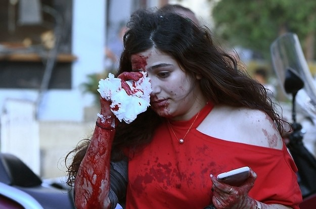 Horrifying Photos Show The Chaotic Aftermath Of The Explosion In Beirut