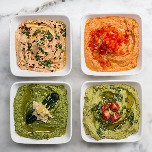 Hummus 4 Ways   Recipes