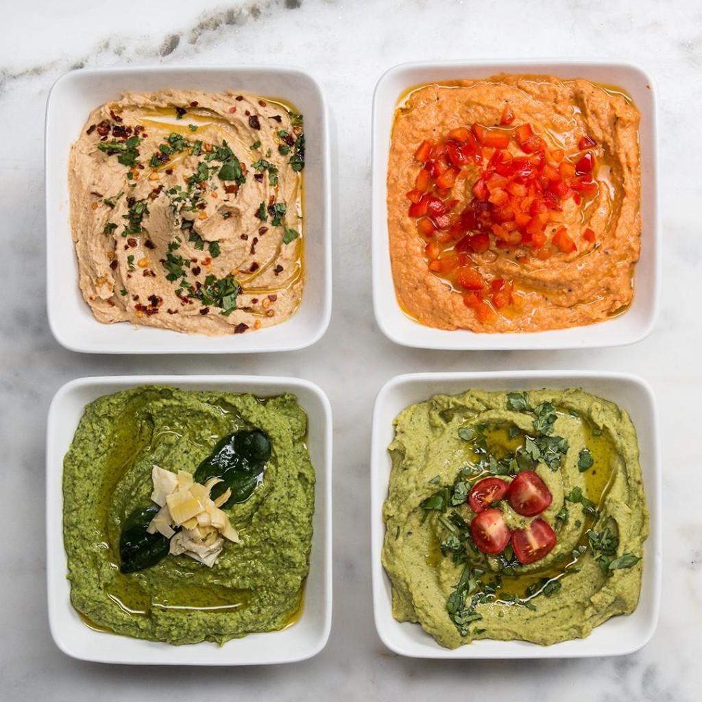 Hummus 4 Ways | Recipes