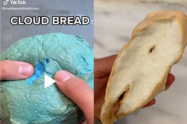 TikTokers Are Making A New Version Of Cloud Bread, And I Tried It At Home