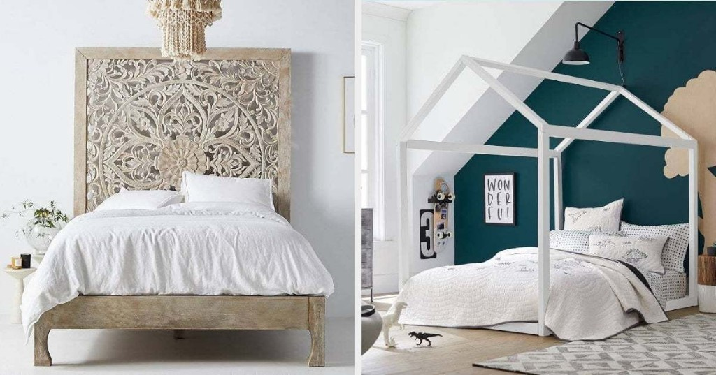 29 Bed Frames That'll Basically Be The Star Of Your Bedroom
