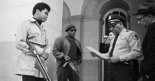 When Black Panthers Carried Guns, Conservatives Supported Gun Control