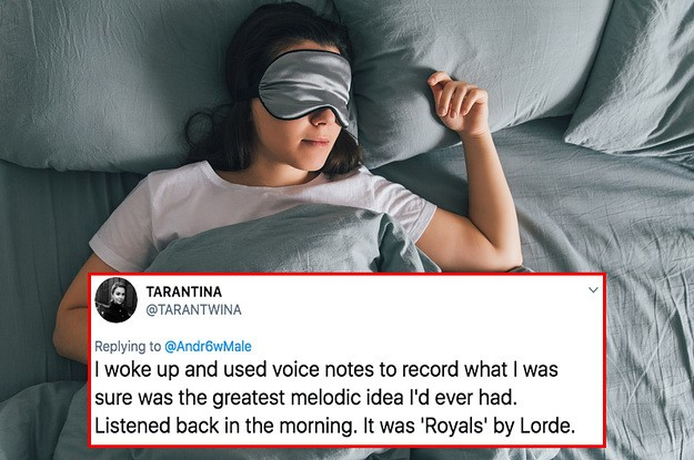 "People Are Sharing ""Genius"" Ideas That Came To Them In Dreams, And They're Hilarious"
