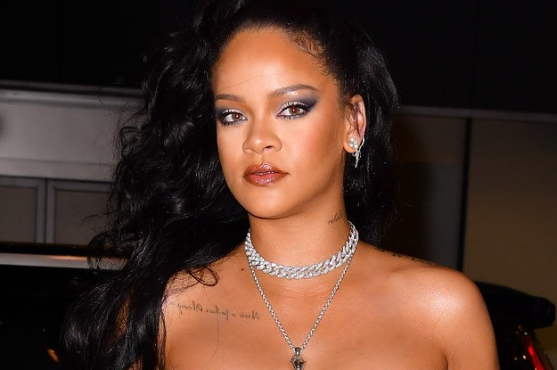 Allow Rihanna To Demonstrate How To Shut Down Someone Invading Your Personal Space