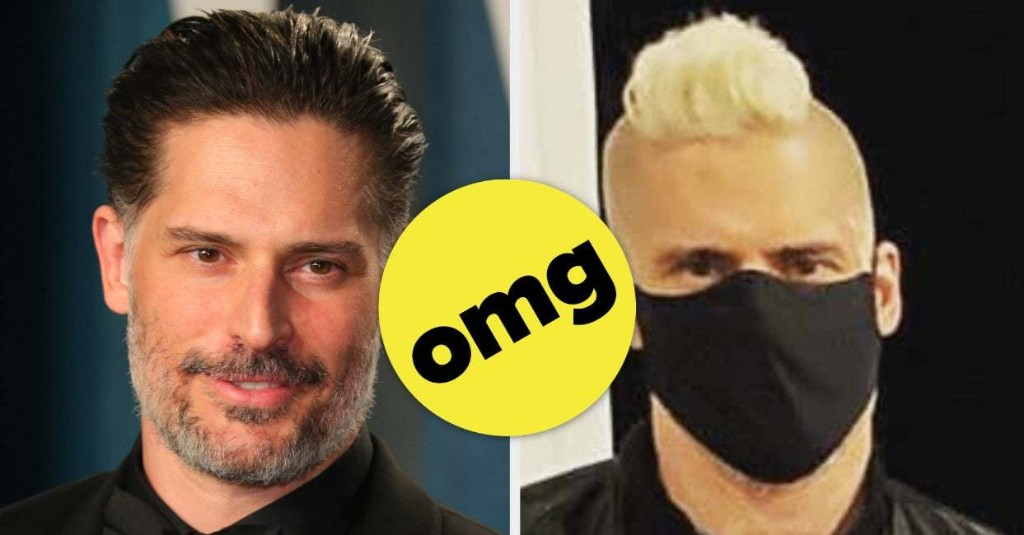 Stop What You're Doing And Look At This Photo Of Joe Manganiello With Blonde Hair