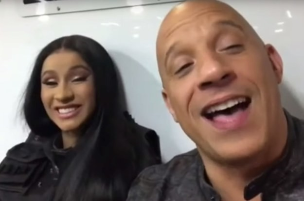 """Cardi B Joined The Cast Of """"Fast And Furious 9"""" But All She Wanted To Do Was Take A Nap"""
