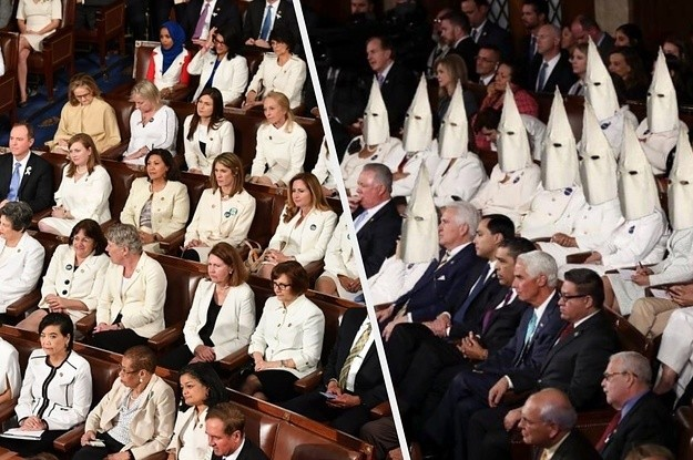 This Altered Photo Of Women Lawmakers In KKK Hoods Is Spreading And Twitter Is Refusing To Stop It