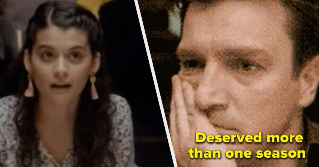 24 TV Shows That Were Canceled But Shouldn't Have Been