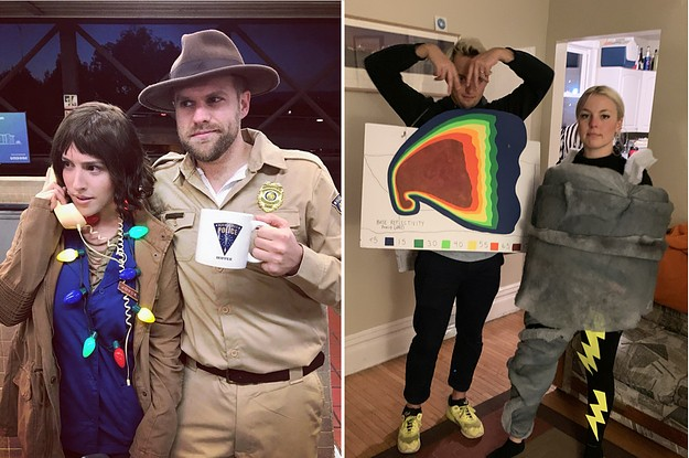 21 Couples Halloween Costumes Ideas That Are So Cute, But Not The Nauseating Kind Of Cute