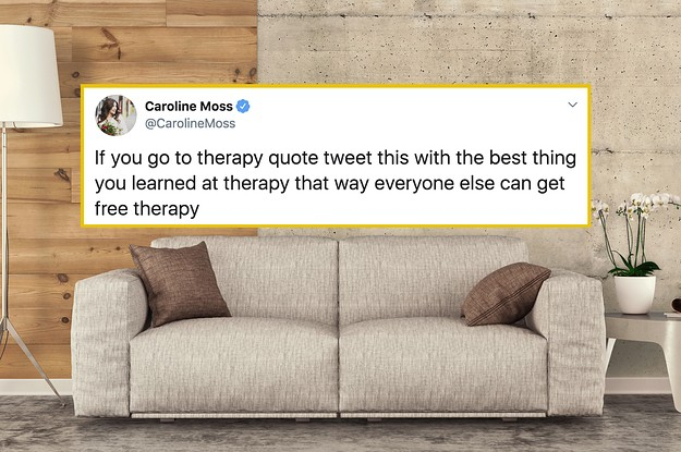 28 Pieces Of Advice People Learned From Their Therapists