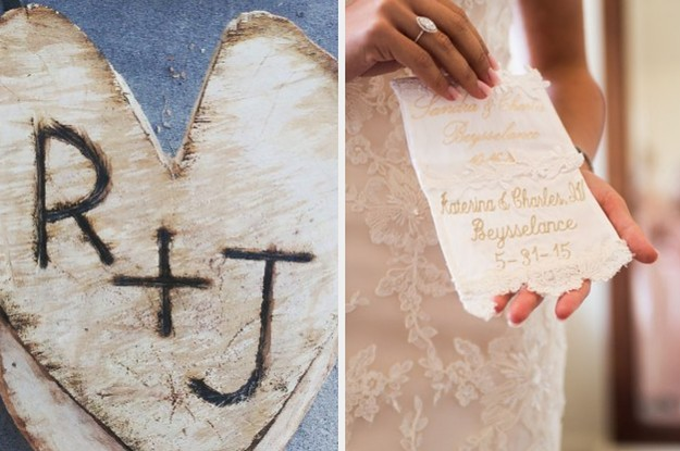 28 Super Cute Things People Did On Their Wedding Day That Made It Extra Special