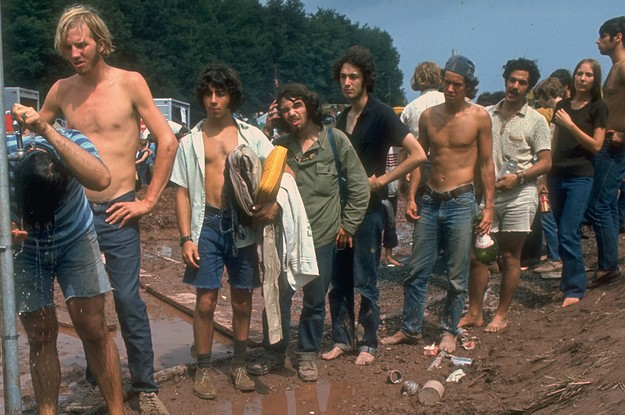 Here's Just How Miserable Woodstock Really Was