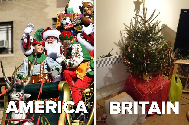 This Is What Christmas Is Like In America Vs In Britain