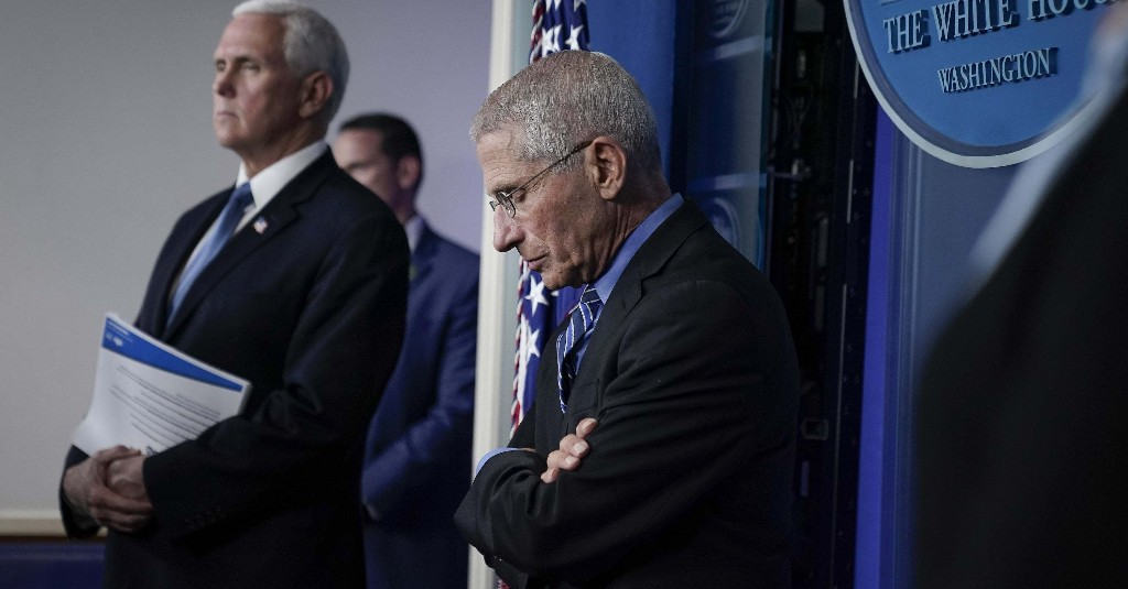 QAnon Followers And Right-Wing Influencers Are Falsely Accusing Dr. Anthony Fauci Of Being A Deep State Plant