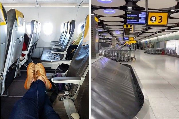 These Photos Show How Shockingly Empty Airplanes And Airports Are During The Coronavirus Pandemic