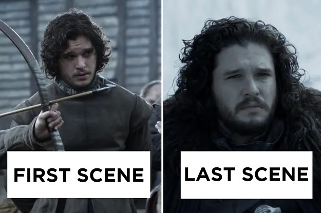 """27 Images Of """"Game Of Thrones"""" Characters In Their First Season Vs. Their Last Season"""