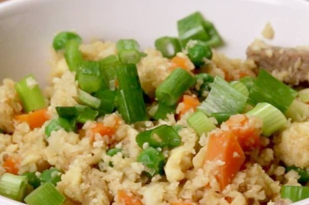This Is How You Make Healthy Cauliflower Fried Rice