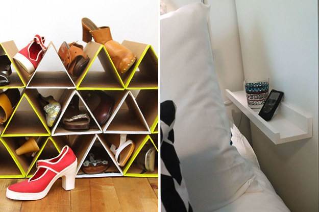 19 Genius Storage Ideas Everyone With A Tiny Room Will Appreciate