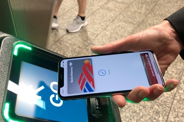 Starting Today, People Can Use Apple Pay To Tap-And-Go On The NYC Subway