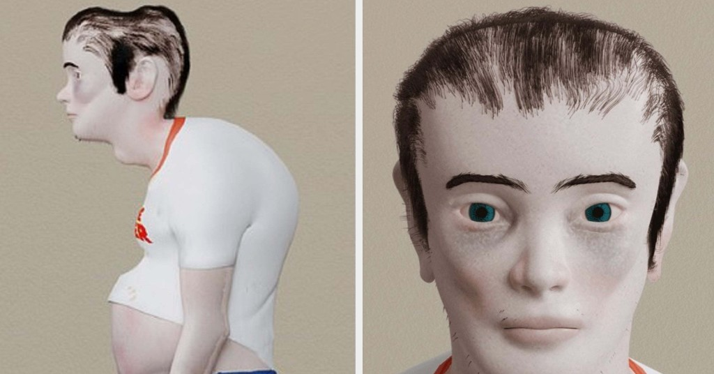 This Model Shows What Die-Hard Gamers Could Look Like In 20 Years And It's Frightening