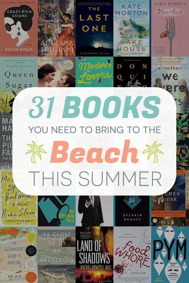 31 Beach Read Books - Magazine cover