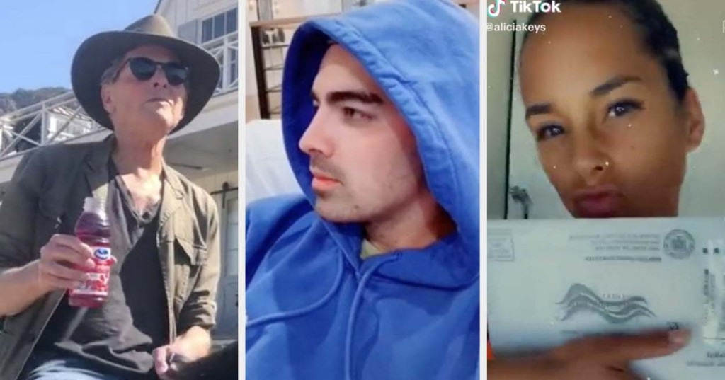 """Joe Jonas Re-Created This Iconic """"Camp Rock"""" Moment, And 15 More Things Celebs Did On TikTok This Week"""