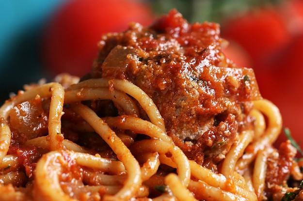 Richard Blais Made The Yummiest Spaghetti And Meatballs Ever
