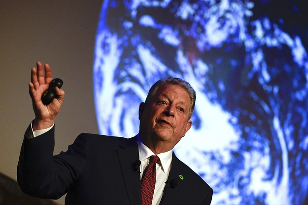 Al Gore's New Campaign To Save The Planet Is Focused On Getting Donald Trump Out Of Office