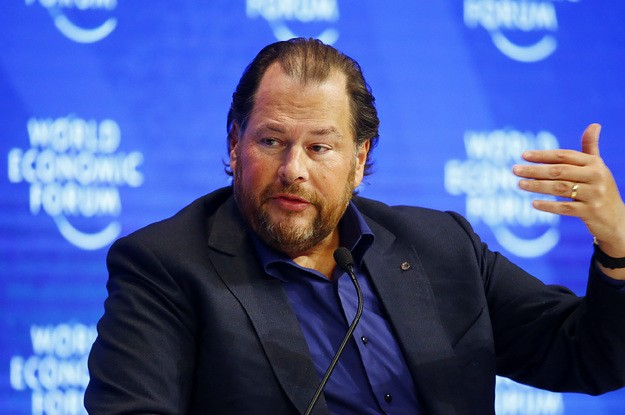 In Throwing His Weight Behind A San Francisco Homelessness Tax, Marc Benioff Finds His Populist Voice